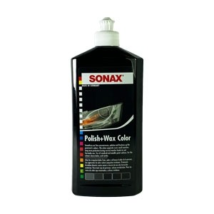sonax COLOUR POLISH & WAX BLACK 500ML-0