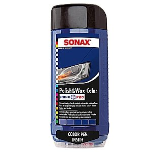 sonax Colour Polish & Wax Blue 500ml-0