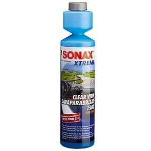 sonax Xtreme Clear View Windscreen Screenwash Nano Pro 1:100 250ml Xenon Safe-0
