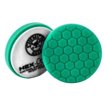Chemical Guys HEX-LOGIC HEAVY POLISHING PAD, GREEN-0
