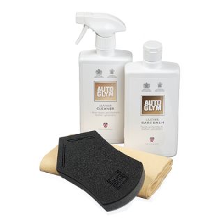 Autoglym Leather Clean & Protect Complete Kit-0