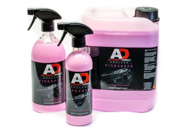 autobrite pink sheen interior trim dressing -0