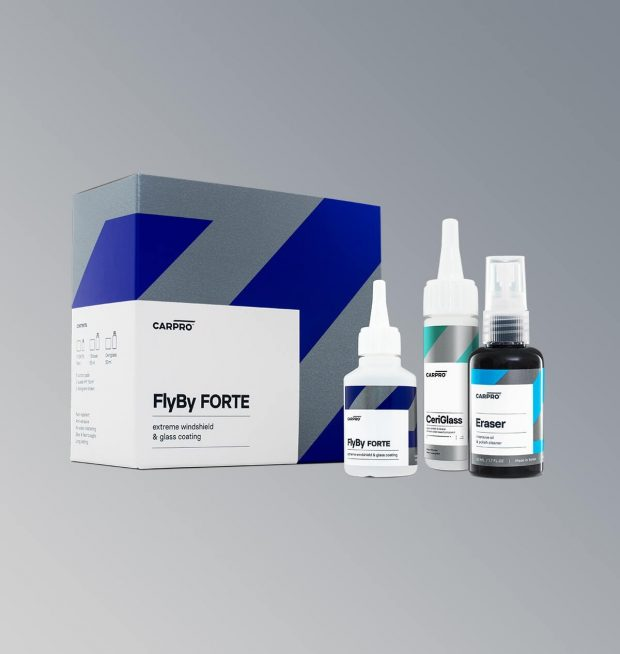 Carpro Flyby Forte : Extreme Glass Sealant (15ml) KIT-0