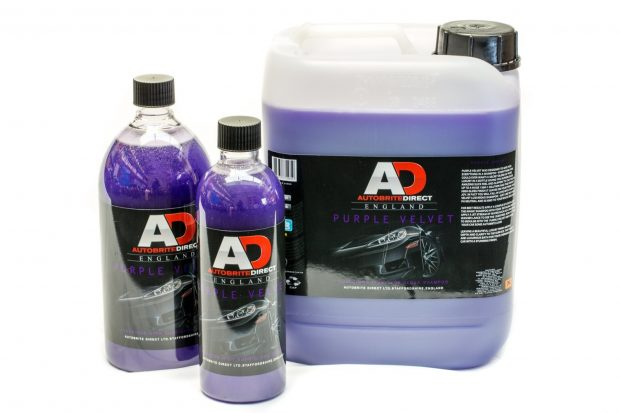 AUTOBRITE Purple Velvet High Gloss Shampoo-0