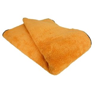 """Chemical Guys Miracle Dryer Absorber Premium Microfiber Towel with Silk Edges, 36"""" x 25""""-0"""