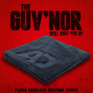 Autobrite - The Guv'nor - Plush, Edgeless Buffing Towel-0