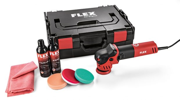 Flex XFE 7-12 80 P-SET 240v Corded Roto Random Orbit Polisher Set-0