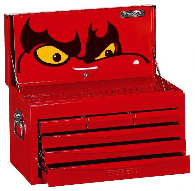 Teng Tools 6 Drawer Top Tool Box Storage -0