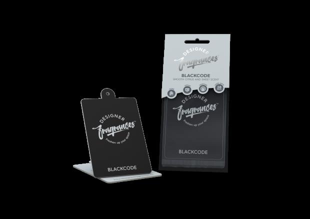 DESIGNER FRAGRANCE Black Code Air Freshener-0
