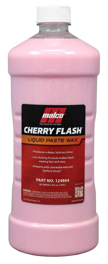 MALCO Cherry Flash Liquid Paste Wax-0