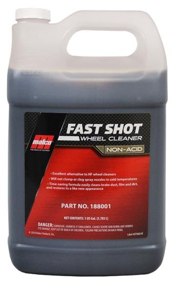 MALCO Fast Shot Wheel & Tire Cleaner Non-Acid Formula-0