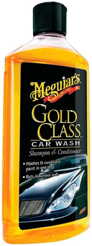 Meguiars - Gold Class Car Wash Shampoo & Conditioner 473ml-0