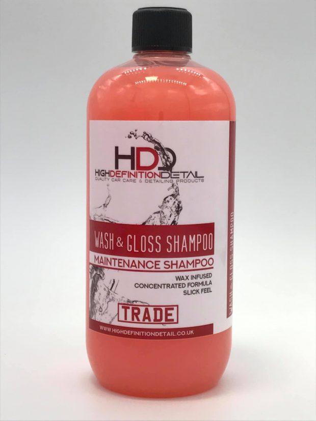 High Definition Detail TRADE Range - Wash & Gloss Shampoo 1L-0