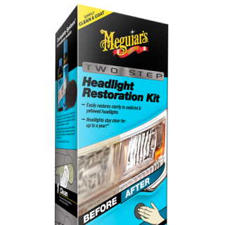 Meguiars - Two Step Headlight Restoration Kit-0